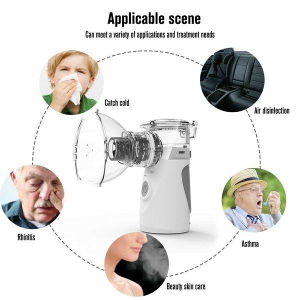 Stoom inhalator - medicijn vernevelaar - hydrolaat - hydrosol inhalator-Shungite water inhalator - astma inhalator - medicijn vernevelaar - meer lucht - stoom inhalator www.shungite-nederland.nl