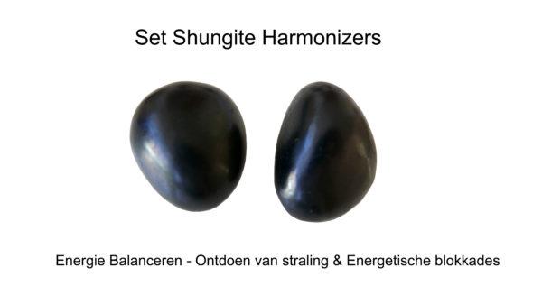 Set Shungite Harmonizers ontdoet je van energetische blokkades - anti-stralilng - harmonisert de energieën - www.shungite nederland.nl