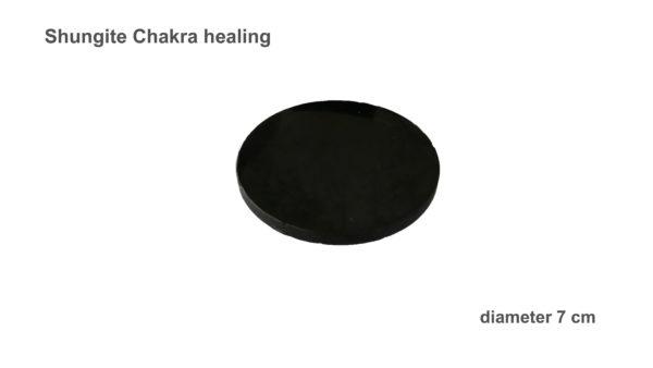 Shungite Chakra healing 7 cm