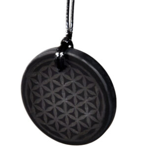 Flower of Life hanger Shungite